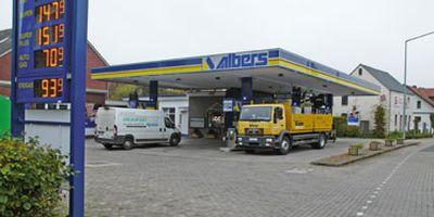 Albers CNG Erdgastankstelle in Cloppenburg