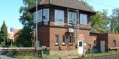 Bahnhof Friedland (Han) in Friedland Kreis Göttingen