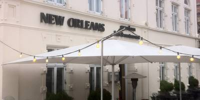 New Orleans , american bar & restaurant in Wismar in Mecklenburg