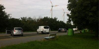 Parkplatz Hude in Hude in Oldenburg