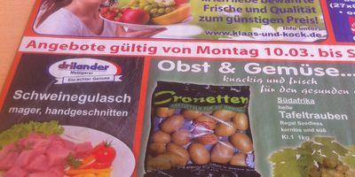 K+K Verbrauchermarkt (Klaas & Kock) in Barßel