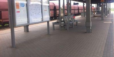 Bahnhof Nauen in Nauen in Brandenburg
