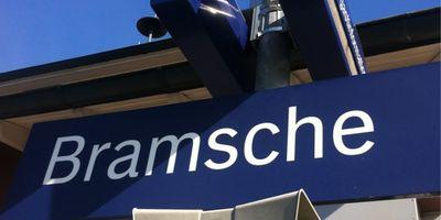 Bahnhof Bramsche in Achmer Stadt Bramsche