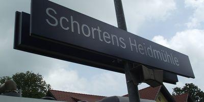 Bahnhof Schortens-Heidmühle in Schortens