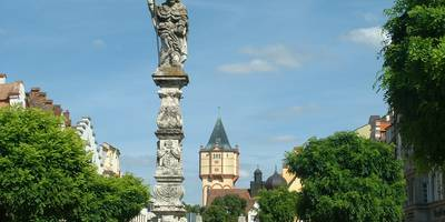 Straubings Goldener Weg in Straubing