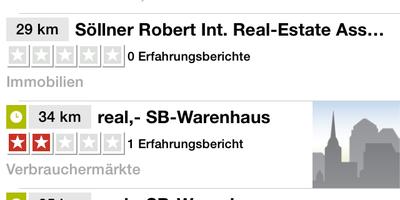 real,- SB-Warenhaus in Amberg in der Oberpfalz
