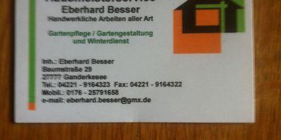 Hausmeister Service - Eberhard Besser in Ganderkesee
