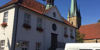 Städt. Touristisches Informationsbüro Fürstenau im Alten Rathaus in Fürstenau bei Bramsche