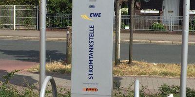 EWE Go Ladestation - inkoop Verbrauchermarkt in Delmenhorst
