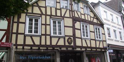 Das Töpferlädchen in Linz am Rhein