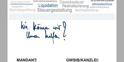 GWStB Steuerberater Schüll in Schweinfurt