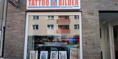 Kunstlust Tattoostudio und Bildergalerie in Köln