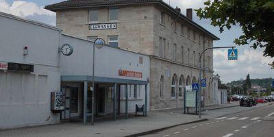 Bahnhof Ellwangen in Altmannsrot Gemeinde Ellwangen