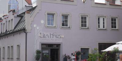 Lila Haus in Füssen