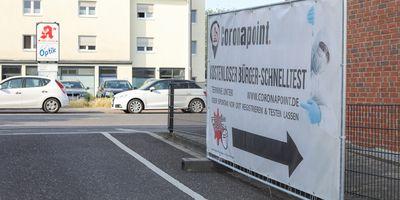 Coronapoint: Corona Testzentrum Leverkusen-Rheindorf in Leverkusen