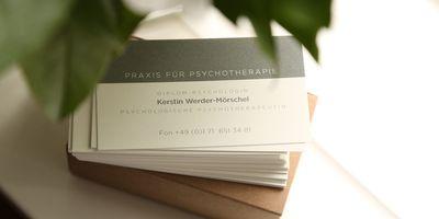 Praxis für Psychotherapie Kerstin Werder-Mörschel in Potsdam