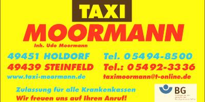 Taxi Moormann in Steinfeld in Oldenburg