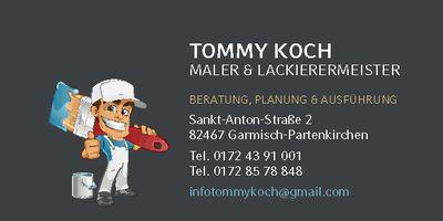 Tommy Koch Malermeister in Garmisch-Partenkirchen