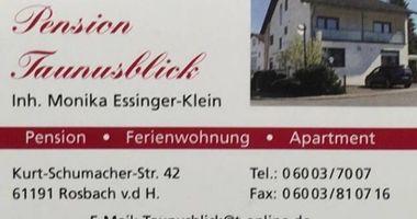 Pension Taunusblick in Rosbach vor der Höhe