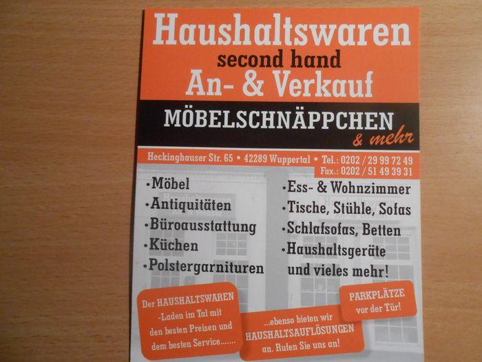 Haushaltswaren An Verkauf 1 Bewertung Wuppertal Barmen