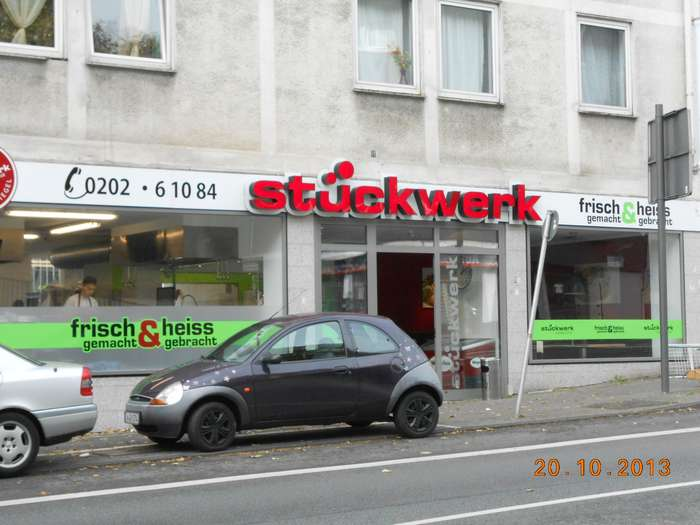 Stückwerk Bochum stückwerk - pizzakultur - 2 bewertungen - wuppertal barmen