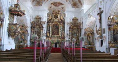 Wallfahrtskirche -Maria Alm in Lauterhofen in der Oberpfalz