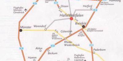 Stadt am Teutoburger Wald in Halle in Westfalen