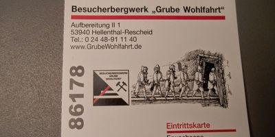 Besucherbergwerk Grube Wohlfahrt Heimatverein Rescheid e.V. in Hellenthal