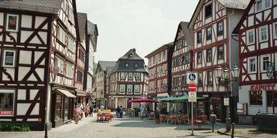 Ferienstrasse - Oranierroute und Deutsche Fachwerkstrasse in Dillenburg
