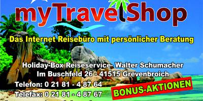Holiday-Box Reiseservice in Grevenbroich