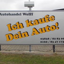 Autohandel Wolff in Bergen auf Rügen