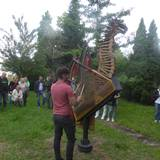 Skulpturen Garten des Kunstverein Ravensburg - Weingarten in Ravensburg