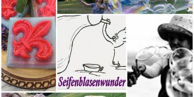Seifenblasenwunder Eva Rau in Beelitz in der Mark