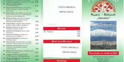 Montebello Pizzeria in Lübbecke