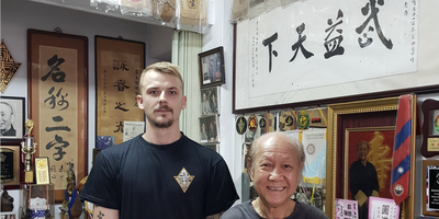 Green Temple - Meditation / Wing Chun Kung Fu / Tee in Karben