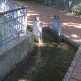 Wasserspielplatz Südpark (Archimedische Schraube) Vor dem Deich in Düsseldorf