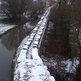 Wasserkastell u. Aquädukt im Schlossgarten in Schwetzingen