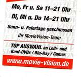Movie Vision Videothek in Detmold