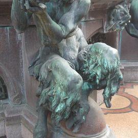 Hygieia-Brunnen in Hamburg