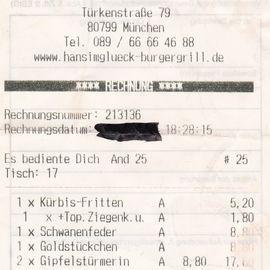Bild zu HANS IM GLÜCK Burgergrill & Bar in München