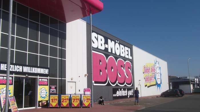 sb mobel boss handels gmbh co kg in hilden