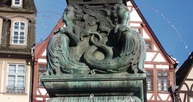 Gerechtigkeits- bzw. Justitiabrunnen in Frankfurt am Main