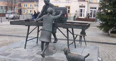 Spargelfrau-Denkmal in Schwetzingen