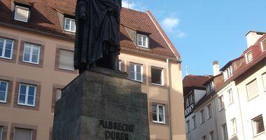 Albrecht Dürer Denkmal in Nürnberg