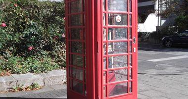 Britische Telefonzelle - Bücherschrank in Bonn