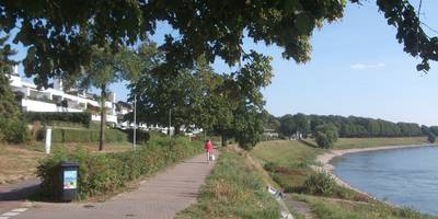 Rundgang durch Benrath in Düsseldorf