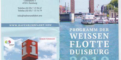 Weiße Flotte Duisburg in Duisburg