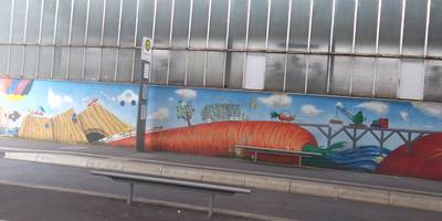 Fernbusbahnhof Paderborn am HBF in Paderborn