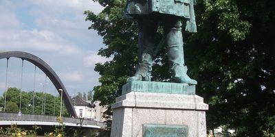 Denkmal des Großen Kurfürsten in Minden in Westfalen