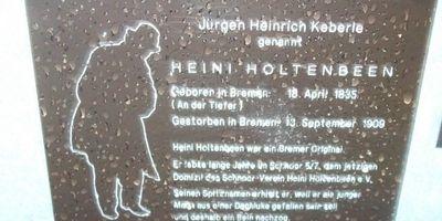 Heini Holtenbeen in Bremen